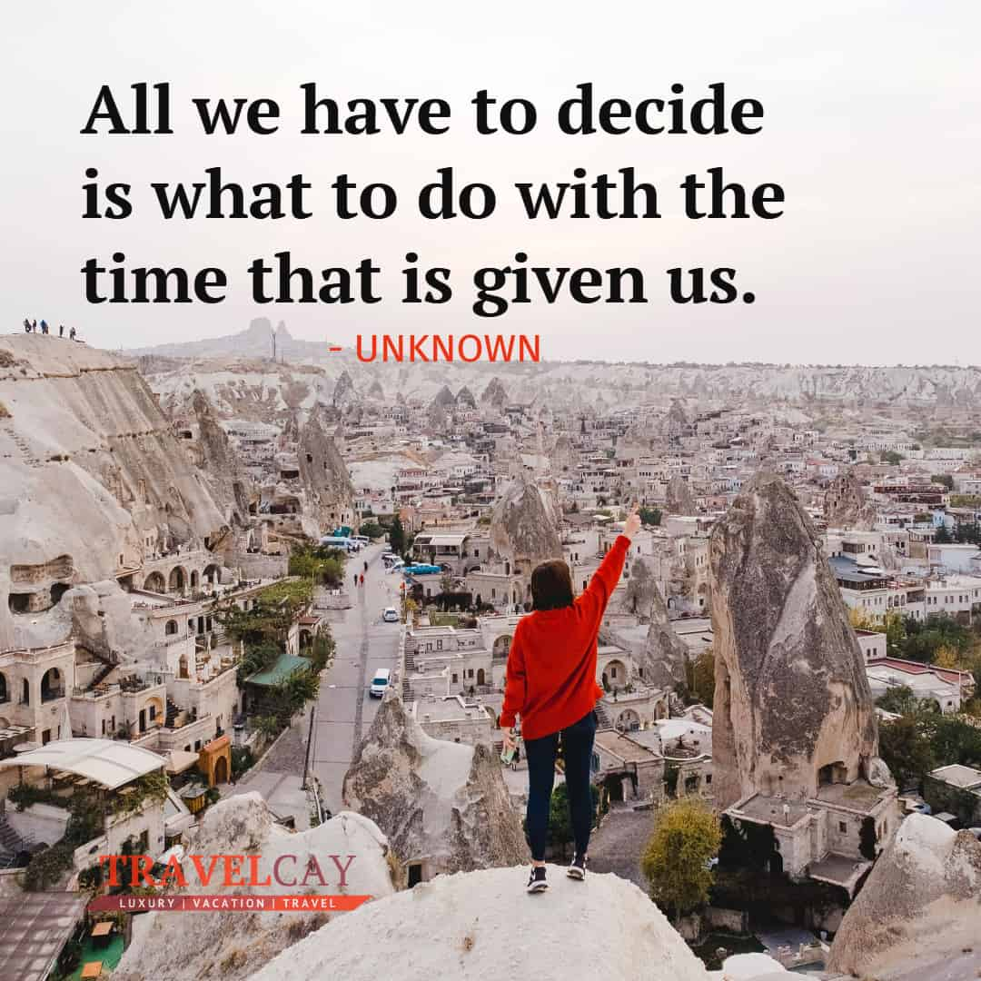 All we have to decide is what to do with the time that is given us - UNKNOWN 1