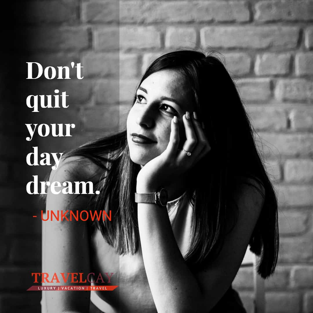 Don't quit your day dream - UNKNOWN 2