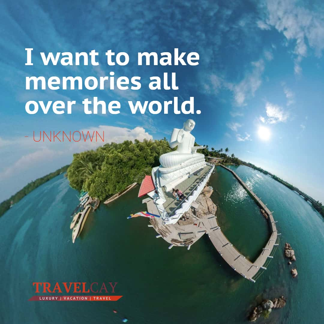 I want to make memories all over the world - UNKNOWN 1