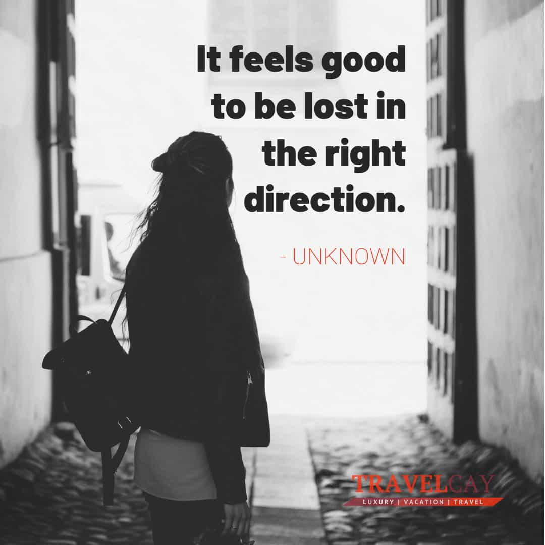 It feels good to be lost in the right direction - UNKNOWN 1