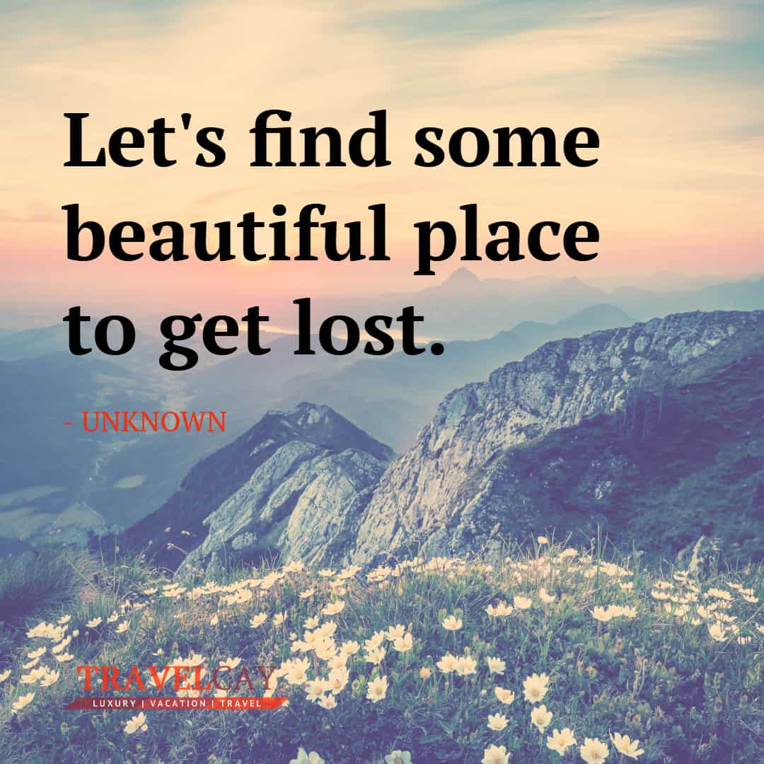 Let's find some beautiful place to get lost - UNKNOWN 1