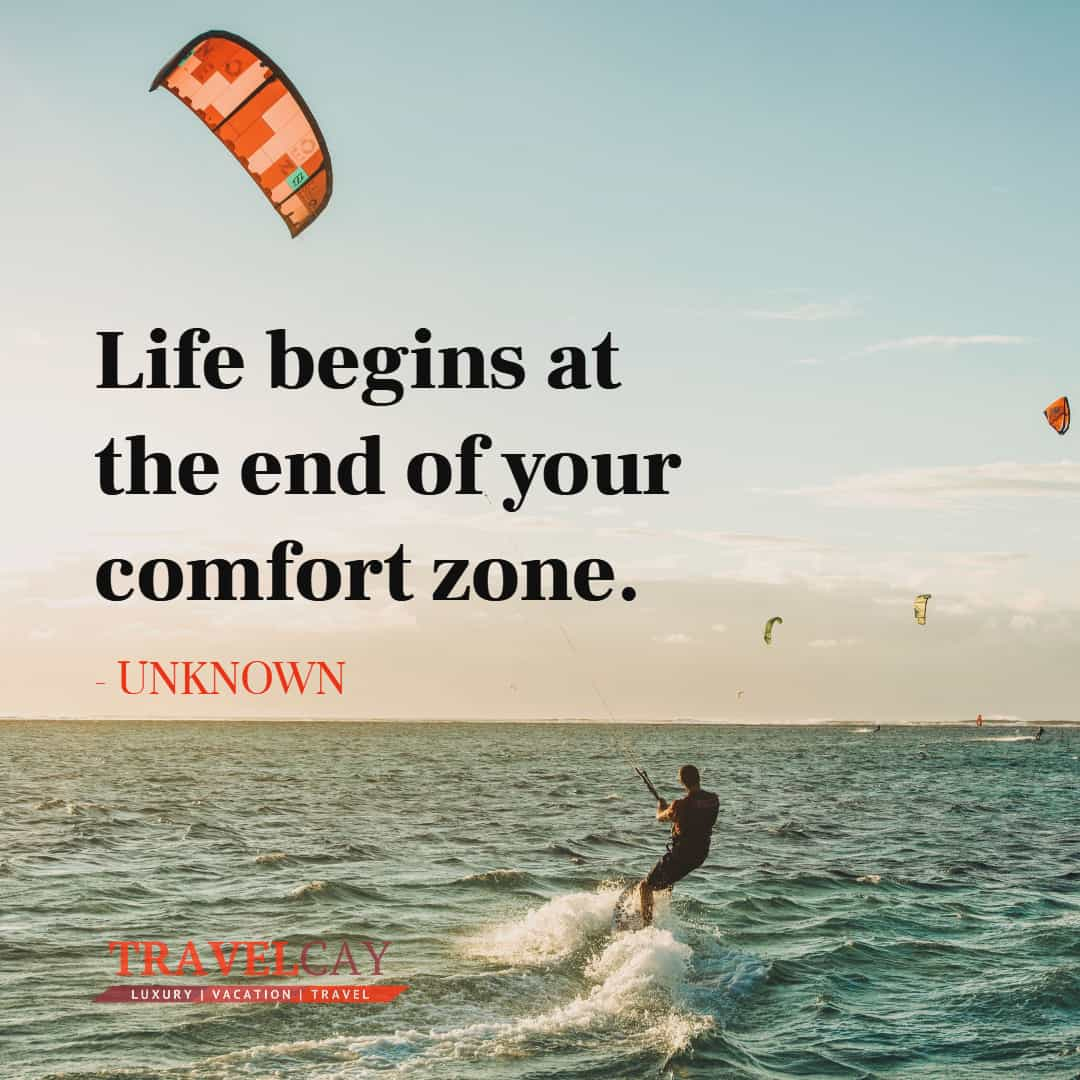 Life begins at the end of your comfort zone - UNKNOWN 1