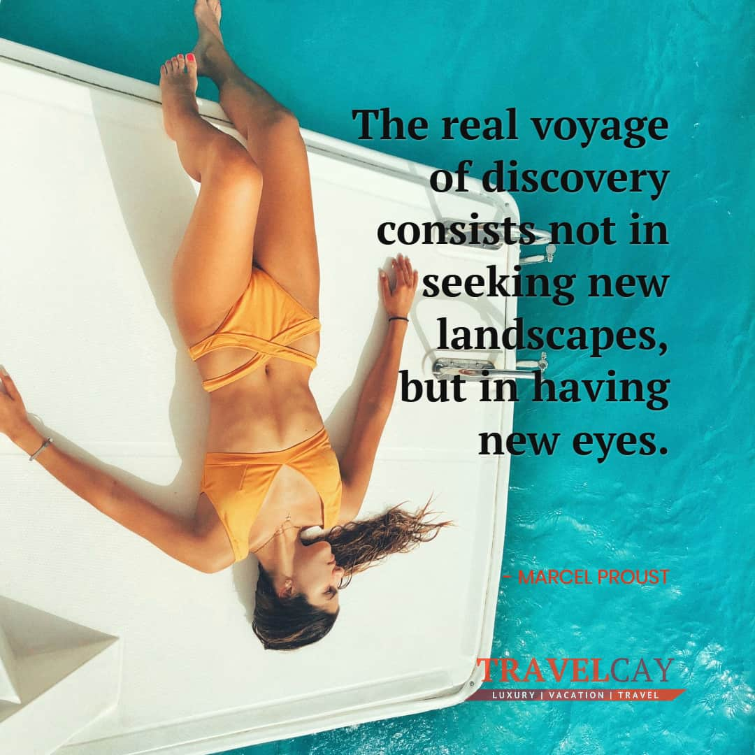 The real voyage of discovery consists not in seeking new landscapes, but in having new eyes - MARCEL PROUST 1