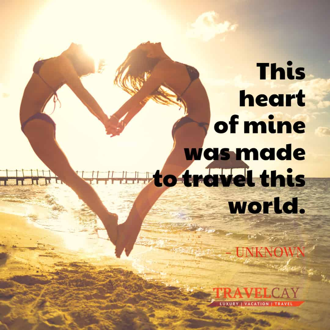 This heart of mine was made to travel this world - UNKNOWN 1