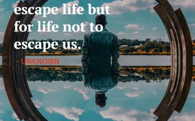 We travel not to escape life but for life not to escape us – UNKNOWN