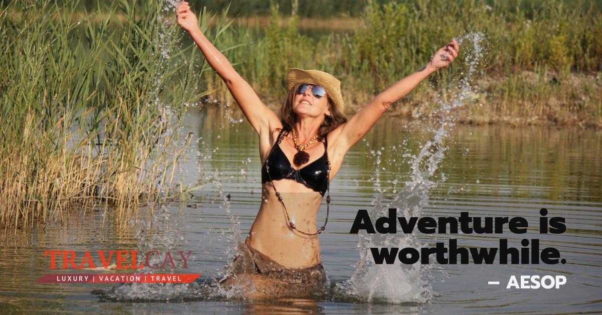 Adventure is worthwhile – AESOP 2