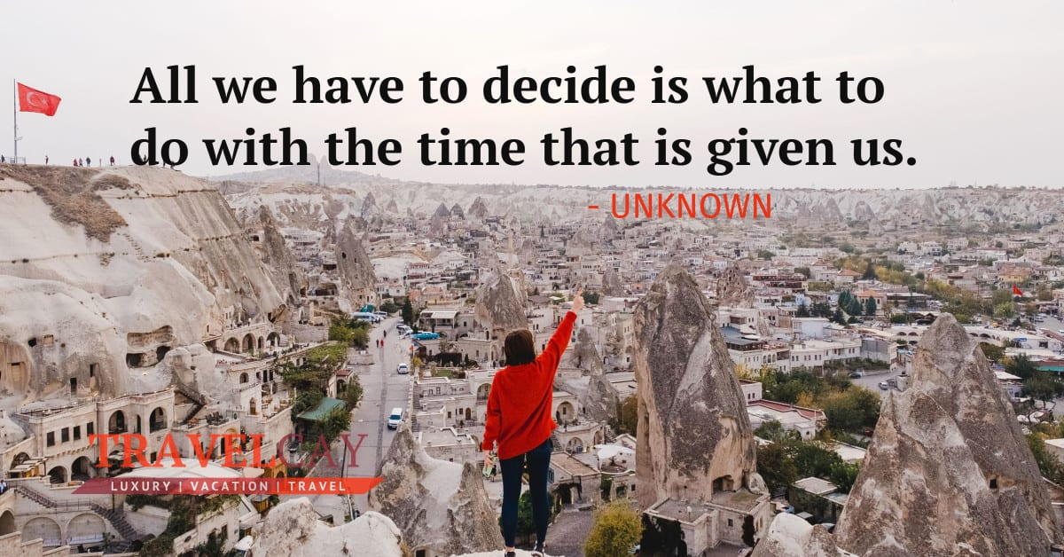 All we have to decide is what to do with the time that is given us - UNKNOWN 2