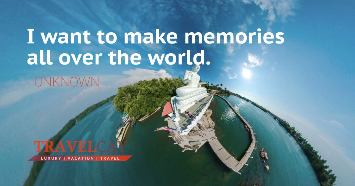 I want to make memories all over the world - UNKNOWN 2