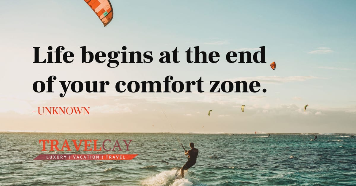 Life begins at the end of your comfort zone - UNKNOWN 2
