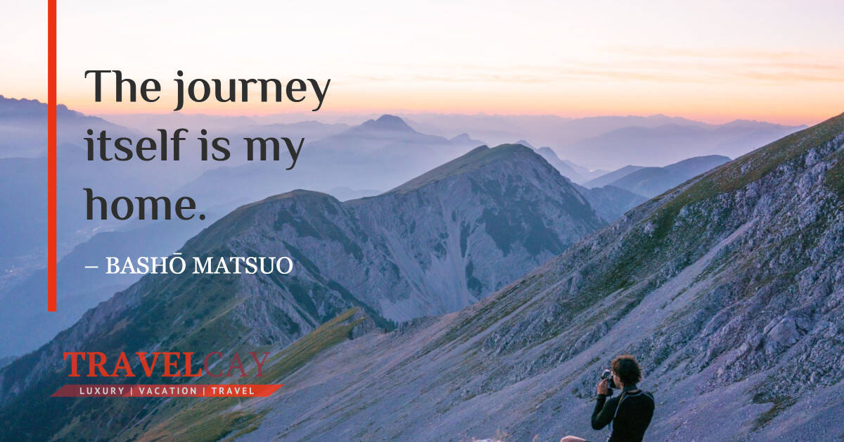 The journey itself is my home – BASHŌ MATSUO 1