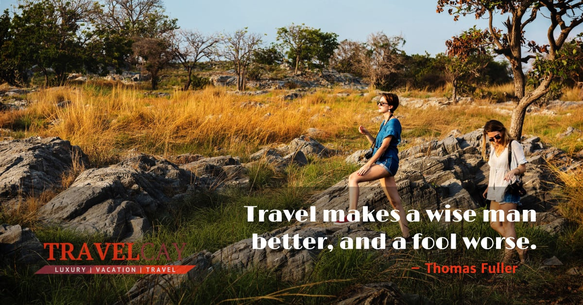 Travel makes a wise man better, and a fool worse – Thomas Fuller 2